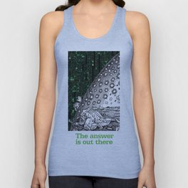 Matrix Flammarion THE ANSWER IS OUT THERE Unisex Tank Top