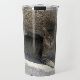 Guardian Of The Ruins Travel Mug