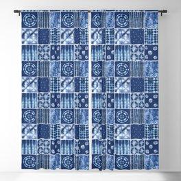 Shibori mix Blackout Curtain