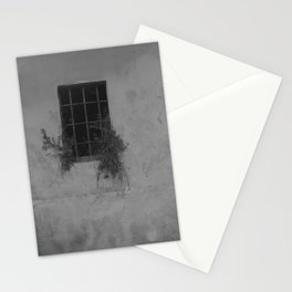 Horror window Stationery Cards