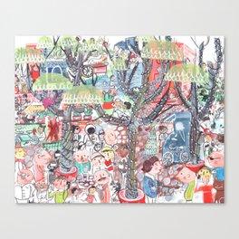 To Market To Market Canvas Print