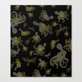 Baby Octopi Canvas Print