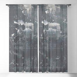 Pale Figure Sheer Curtain