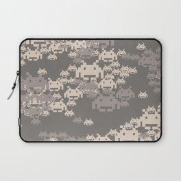 Space Invader Camo Laptop Sleeve