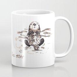 Sea Otter - I like sea urchins! Coffee Mug