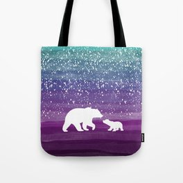 Bears from the Purple Dream Tote Bag