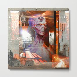 """CITY OF GODS """"The Alien Nation Collection"""" Metal Print"""
