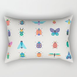 Bugs and insects Rectangular Pillow