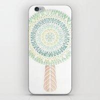 scandinavian iPhone & iPod Skins featuring Scandinavian Tree by Kelly Rosser