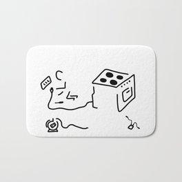 electrician Bath Mat