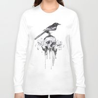 pie Long Sleeve T-shirts featuring Pie by Mortimer Sparrow