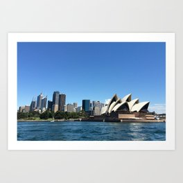 Opera of a Skyline Art Print