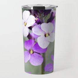 Dame's Rocket from Bud to Bloom Travel Mug