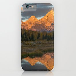 Sunrise On The Snake River iPhone Case