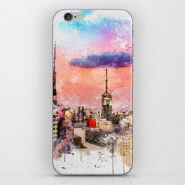 Sao Paulo - WaterColor 003 iPhone Skin