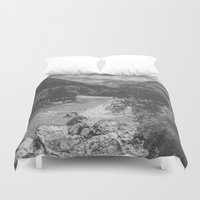 happiness Duvet Covers featuring Happiness by Alluvion Designs