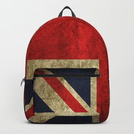 GRUNGY BRITISH UNION JACK  DESIGN ART Backpack