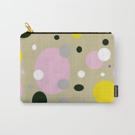 Polka Dots - Colorful - Retro - Fun Carry-All Pouch