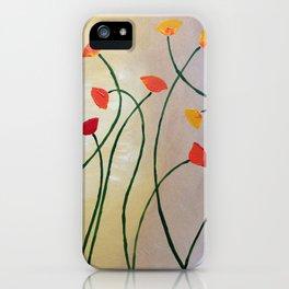 Tall Poppy iPhone Case