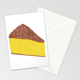 Yellow Cheesecake Stationery Cards