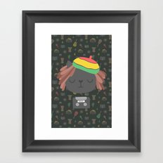 Cute Reggae Framed Art Print