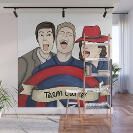 Team Carter - With Banner Wall Mural
