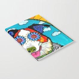Happy Border Collie Notebook