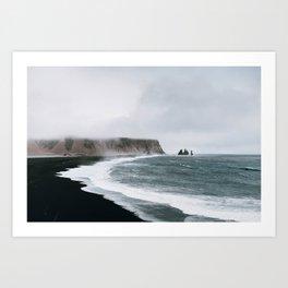 Coast / Iceland Art Print