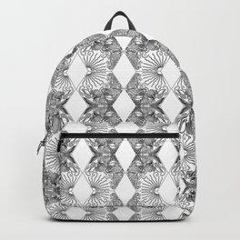 Gaudi Black & White Backpack