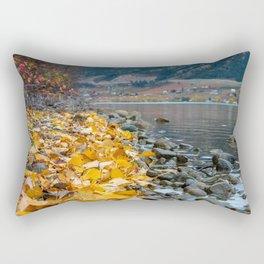 Golden Shores Rectangular Pillow