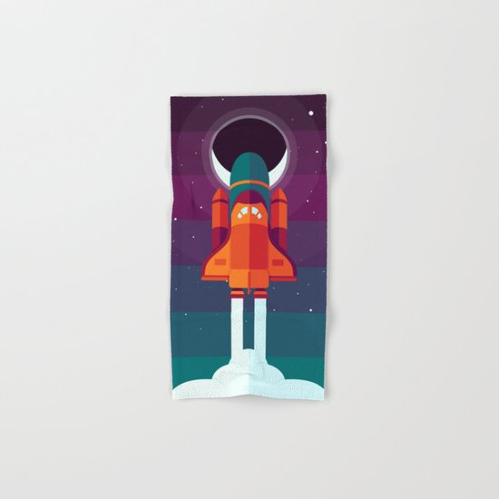 Into Spaaaace Hand & Bath Towel