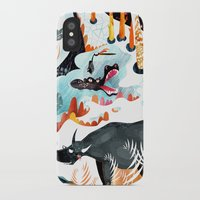 jungle iPhone & iPod Cases featuring Jungle by amam