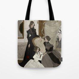 The Fox Sisters Tote Bag