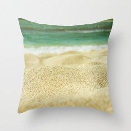 Sunset Beach Throw Pillow