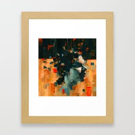 Finding Obstructions 1 Framed Art Print
