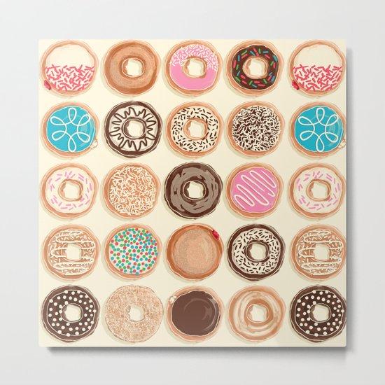 Doughnuts Metal Print
