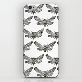 Summer Cicada – Black Palette iPhone Skin