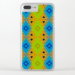 Indian Designs 79 Clear iPhone Case