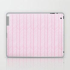 Herringbone Pink Laptop & iPad Skin