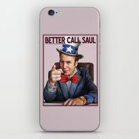 better call saul iPhone & iPod Skins featuring Better Call Saul by Magdalena Almero