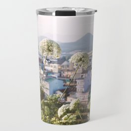 View of the Trai Mat Travel Mug