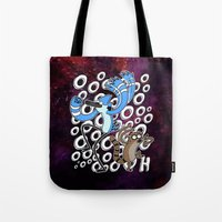 regular show Tote Bags featuring Regular Show OOOOH! by Metal_Sonic