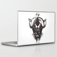 buffalo Laptop & iPad Skins featuring Buffalo  by tangledribbons