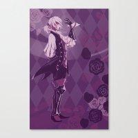 fire emblem Canvas Prints featuring Fire Emblem Fates Joker by Cycha