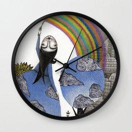 Rainbow Mine Wall Clock