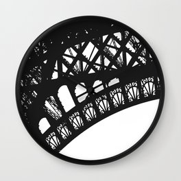 Eiffel Detail Wall Clock