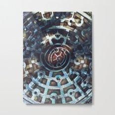 manhole Metal Print