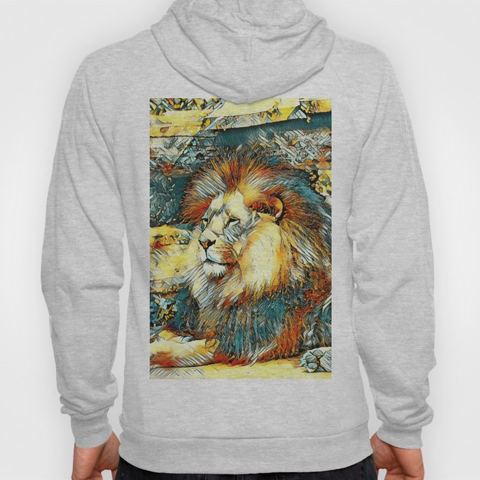 AnimalArt_Lion_20171019_by_JAMColorsSpecial Hoody
