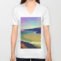 miles davis V-neck T-shirts featuring Miles Away. by Daniel Montero