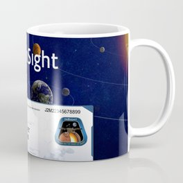 Mars InSight Ticket Coffee Mug